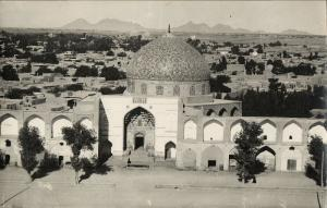 iran persia, ISPAHAN, Sheikh Lotfollah Mosque, Islam (1940s) RPPC