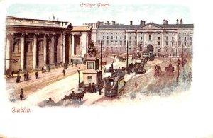 College Green Dublin Ireland Unused