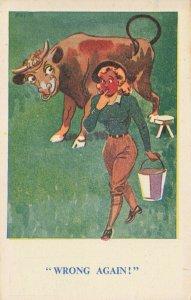 Comic Postcard Garland, Rudolf & Co. W107, Seaside Joke, Humour KK5