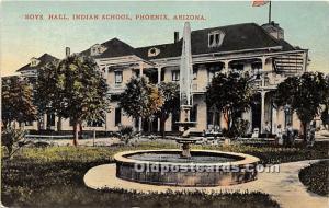 Boys Hall, Indian School Phoenix, Arizona, AZ, USA Unused