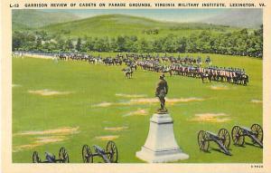 Linen Garrison Review Virginia Military Institute Lexington