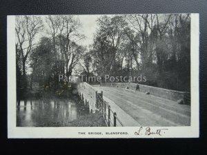 Dorset BLANDFORD The Bridge - Old Postcard