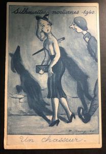 "Mint France WWII ""REMY"" ARTIST HUMOR Postcard 1940 British Soldier B"