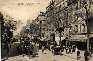 CPA AK PARIS (18e) Avenue de Clichy (534354)
