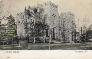 GUELPH, Ontario, 1908 ; Court House