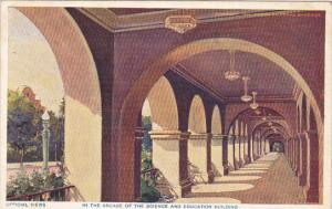 Panama California Expo 1915 San Diego In The Arcade Of Science and Education ...