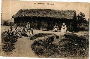 CPA AK Algérie-Kabylie-Café Maure (237254)