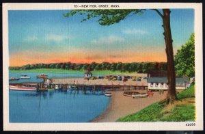 Massachusetts ONSET New Pier - LINEN  (1930-1945 era)