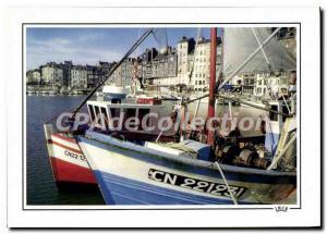 Postcard Modern Reflections Honfleur In Normandy