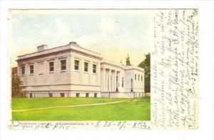Adriance Library , Poughkeepsie, New York, PU-1907