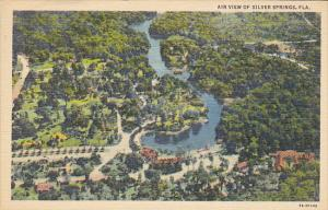 Aerial View Of Silver Springs Florida Curteich