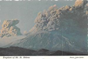 Eurption of Mt St Helens -
