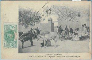 80169 -  SENEGAL SDAN -  Vintage Postcard - ETHNIC :  DJENNE 1908