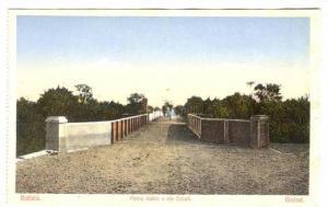 Bafata , Guinea-Bissau , 00-10s ; Ponte sobre o rio Colufi :  Guine