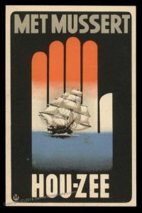 3rd Reich Germany Dutch Nazi Party NSB Recruiting Card 91570