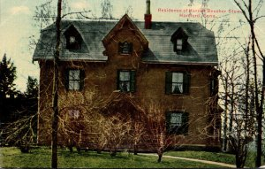 Connecticut Hartford Residence Of Harriet Beecher Stowe