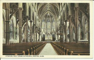 Boston, Mass., Interior, Holy Cross Cathedral
