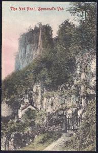 Yat Rock Symonds Yat Herefordshire England unused c1910