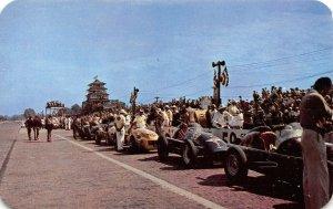 LP80  Indianapolis 500 Speedway  Indiana Postcard