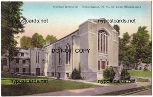Hurlbut Memorial, Chautauqua NY