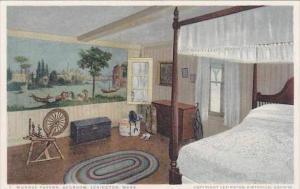 Massachusetts Lexington Munroe Tavern Bedroom