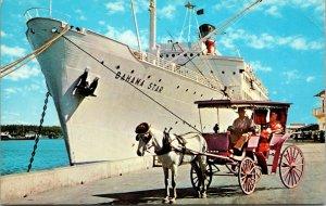 Eastern Steamship Line's BAHAMA STAR of 1972  (ex-Zim JERUSALEM of 1957 POSTCARD