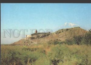 113182 ARMENIA Ararat Province Khor Virap Monastery POSTCARD