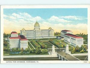 W-Border CAPITOL PARK EXTENSION Harrisburg Pennsylvania PA p0628