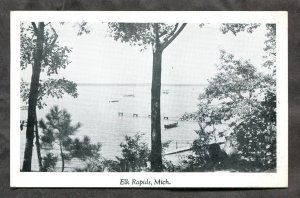 5316 - ELK RAPIDS Michigan 1948 Postcard by Hebert