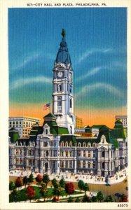 Pennsylvania Philadelphia City Hall and Plaza