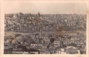 Turkey Old Vintage Antique Post Card Hatic Gorunen Istanbul Unused