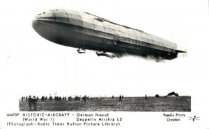 Historic Aircraft German Navel Zeppelin Airship L2 01.87