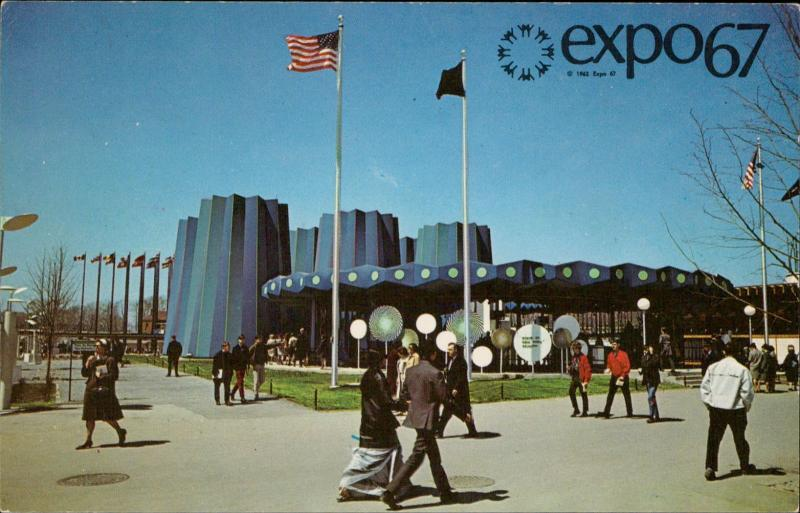 EXPO 67 State of New York PAvilion Montreal Canada