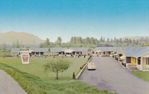 Canada Thunderbird Motel Duncan Vancouver Island British Columbia