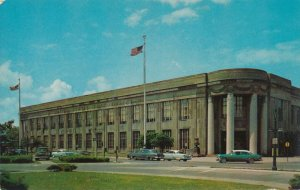 Rochester NY, New York - 1960's Cars at U. S. Post Office