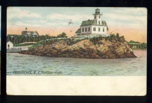 Providence, Rhode Island/RI Postcard, Pomham Light/Lighthouse, 1906! #2