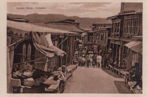 Sudder Bazar Subathu Himachal Pradesh Old Real Photo Postcard