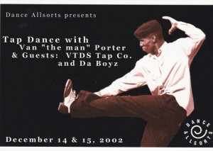 Tap Dance with Van the man Porter, Roundhouse Community Centre , VANCOUVER ...
