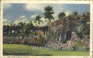 Old Spanish Wall Manila Philippines Unused