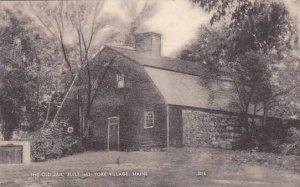 Maine York Village The Old Jail Built 1653 1954