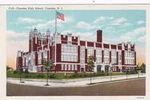 New Jersey Camden High School Curteich