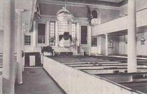 Virginia Alexandria Interior Christ Church Albertype