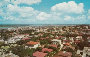 LOURENCO MARQUES , Mozambique , 1950-60s; General view of the lower town