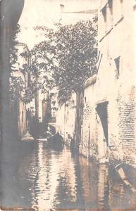Italy Old Vintage Antique Post Card Saviati Real Photo Unused