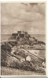 The Channel Islands Postcard - Mont Orgueil Castle - Jersey - Ref 13237A
