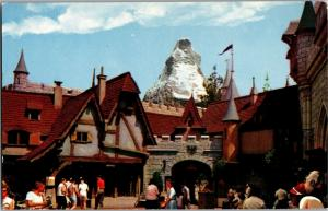 Disneyland Swiss Village Matterhorn Fantasyland D-11 Vintage Postcard M20