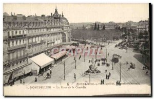 Montpellier Old Postcard The place of comedy