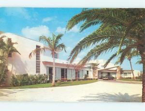 Unused 1950's OLD CARS & LIDO BILTMORE HOTEL Sarasota Florida FL Q4098