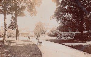 RP: BUXTON, Derbyshire, England, 1900-10s ; Gardens & Pavilion