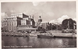 RP; STOCKHOLM, Sweden, 1920-1940s; Kungl. Teatern Och Jakobs Kyrka